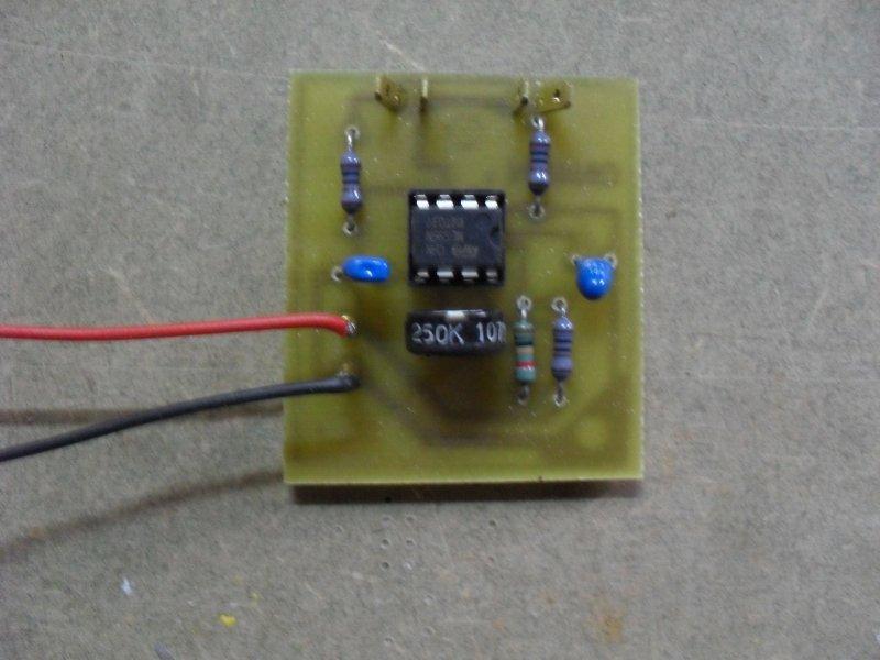Réalisation d'un circuit imprimè