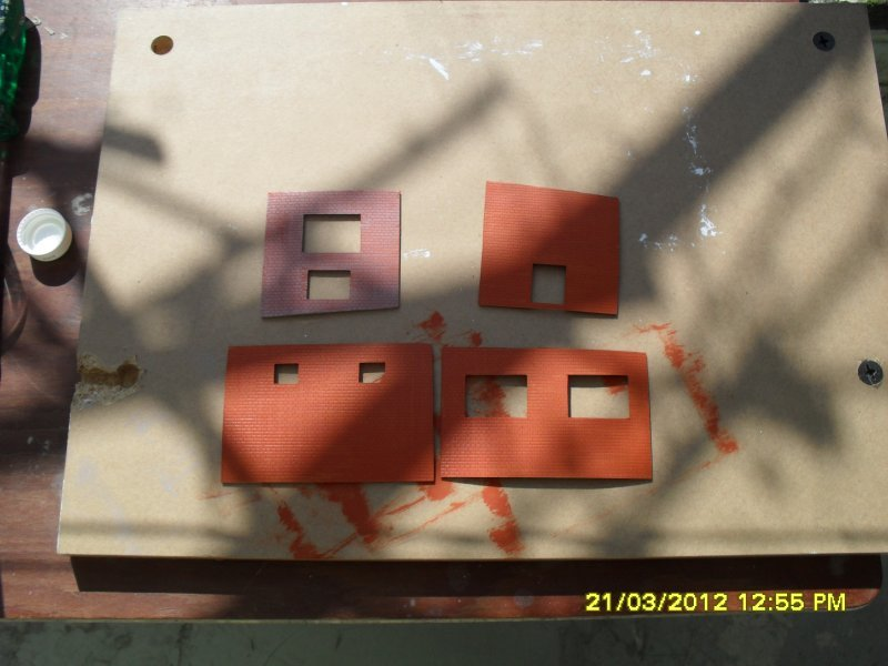 Peinture des murs du centre d'épuration