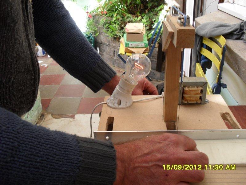 2ème exemple de découpe du polystyrène