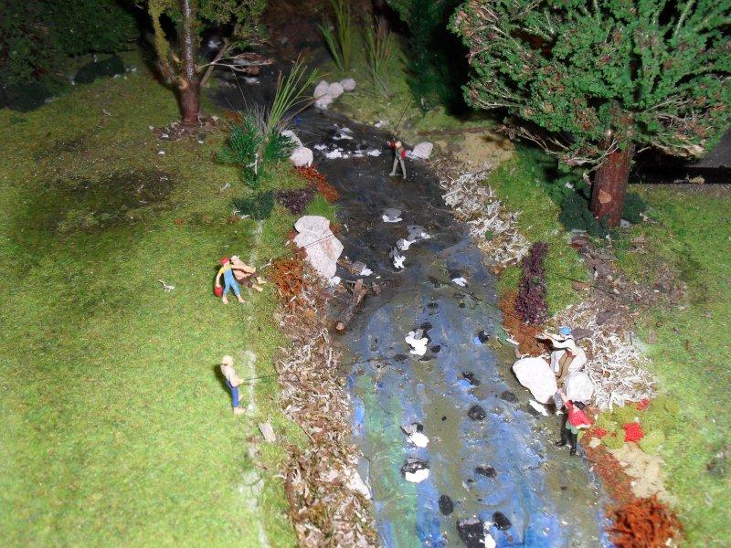 Réalisation d'une rivière