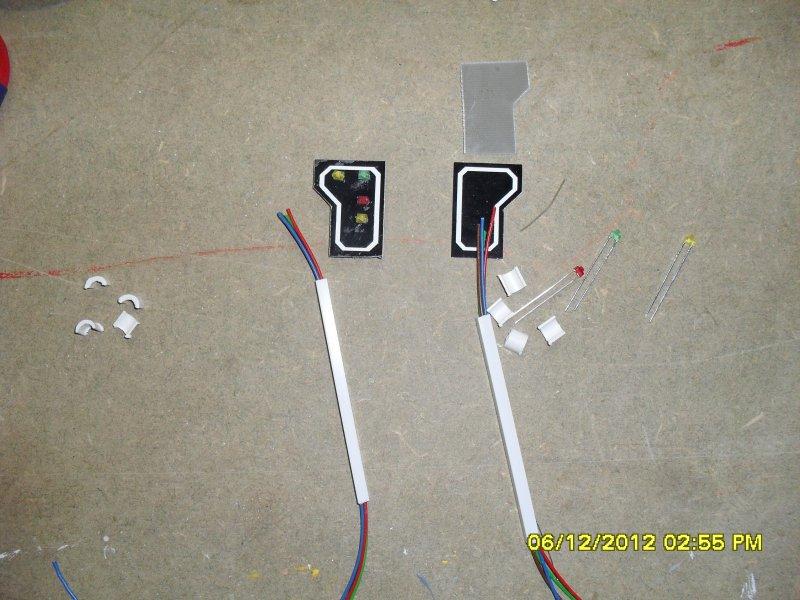 Signaux SNCB échelle HO 1/87