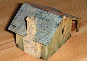 Peinture toit et murs