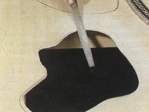 Limage du contour Création d'un Lac