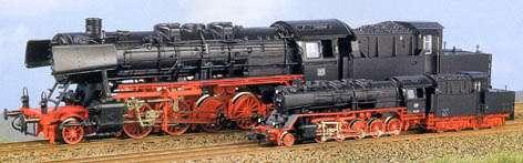 Loco HO 1/87 et N 1/160