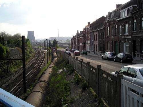 Gare deMarchienne au Pont 100 ans après