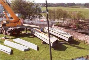 Déballage du kit Remplacement d'un pont