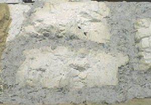 Mélange étalé La couverture du relief en carton-pâte