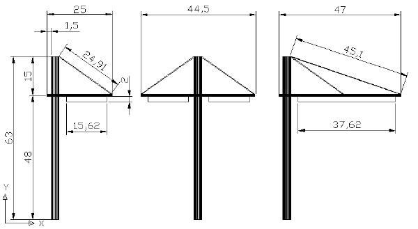 Plans des poteaux Réalisation de poteaux et catenaires pour tramway